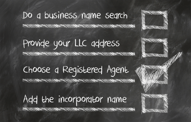 checklist for llc form requirements