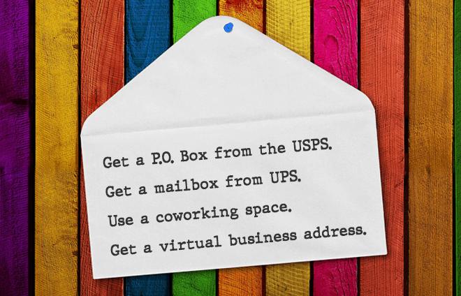 ways to get a business address