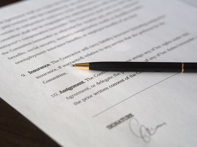 paper and pen agreement