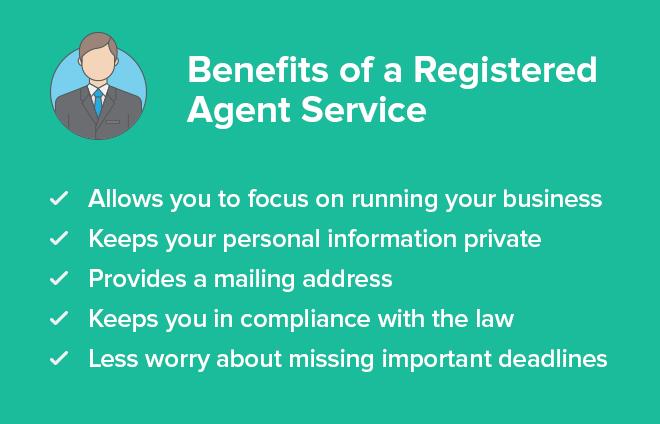 benefits of registered agent service