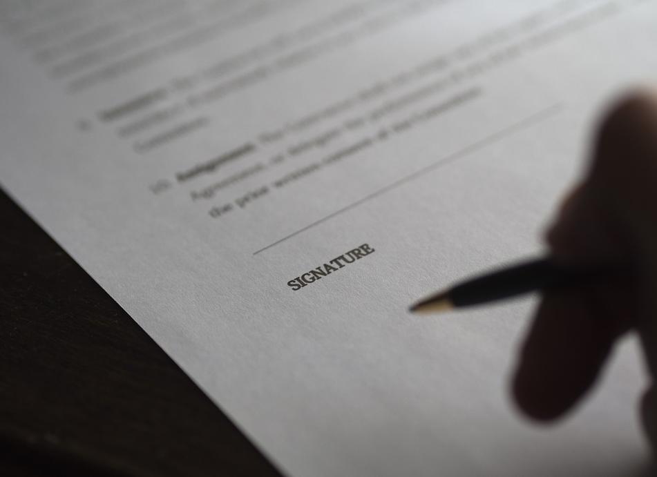 llc form requiring signature