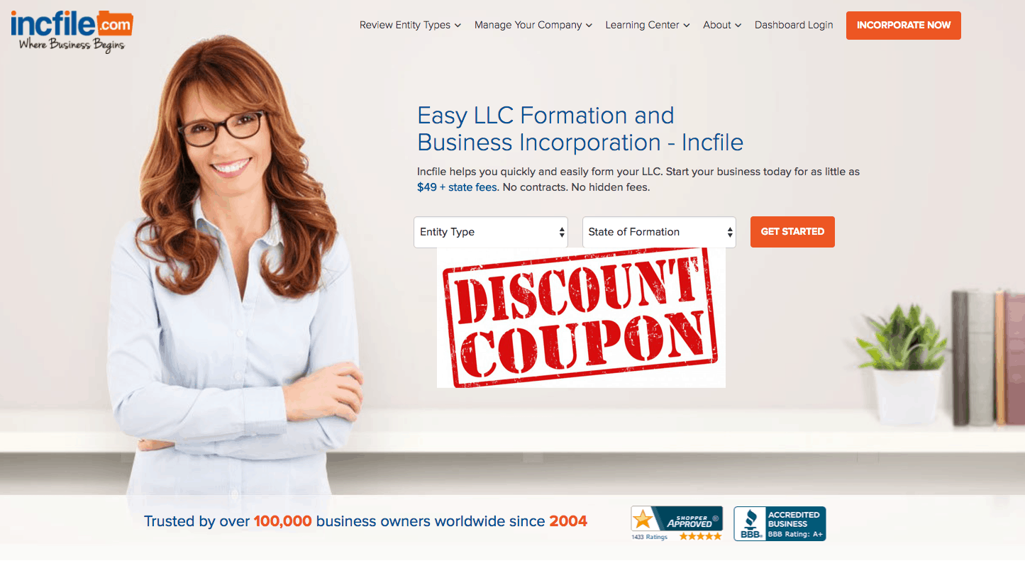 Does an Incfile Discount or Coupon Code Really Exist?