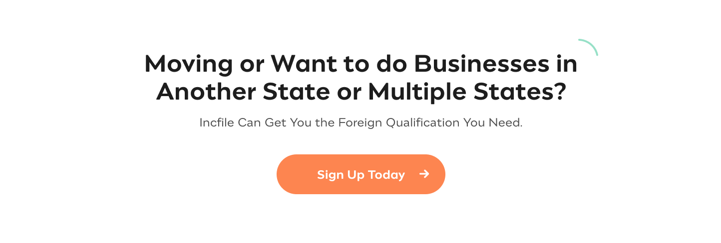 Get Foreign Qualified  We'll Take Care of Your Foreign Qualification Details & Send You a Certificate  of Authority Sign Up Today